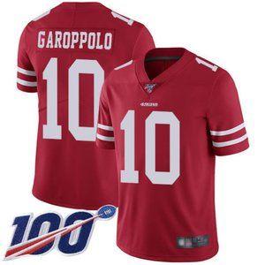 Mens 49ers Jimmy Garoppolo 100th Jersey